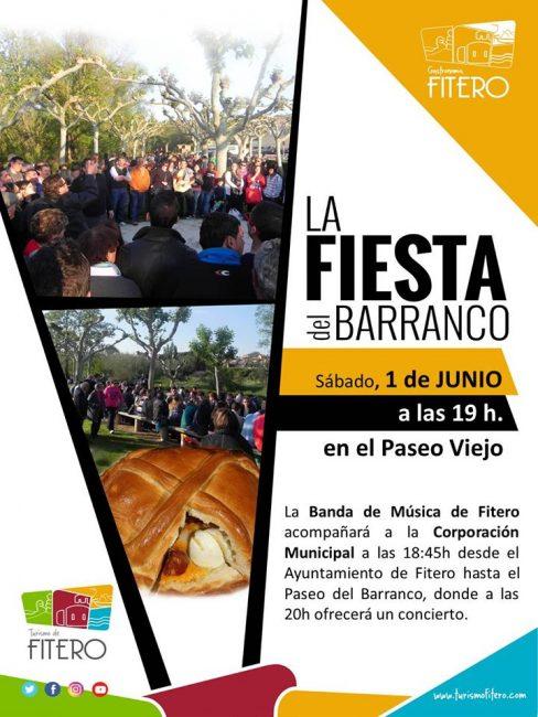 La fiesta del barranco 2019 en Fitero