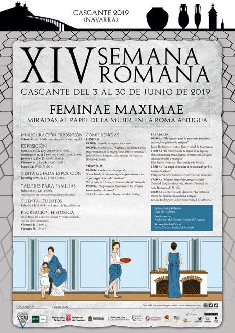 Programa XIV Semana romana de Cascante