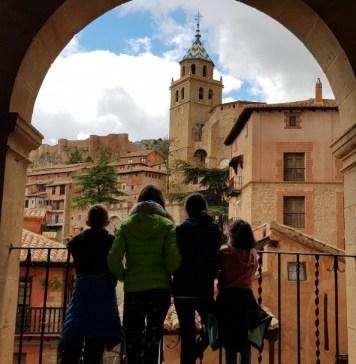 Albarracín desde la plaza mayor