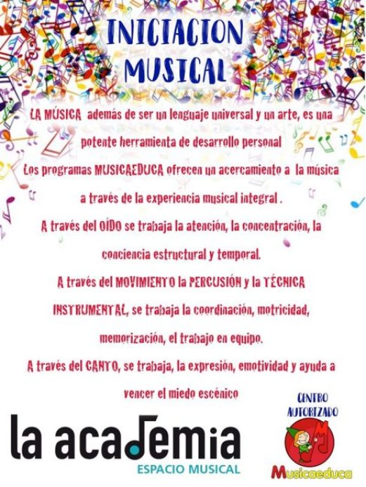 La Academia Música Tudela Texto