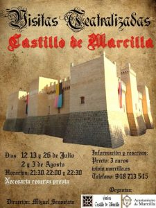 VISITAS TEATRALIZADAS CASTILLO MARCILLA