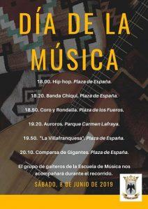 día de la música, villafranca