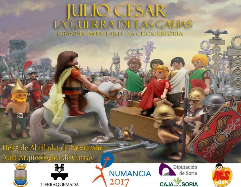 JULIO CÉSAR. LA GUERRA DE LAS GALIAS