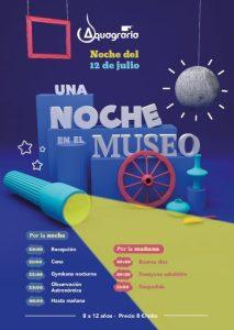 UNA NOCHE MUSEO AQUAGRARIA 2019