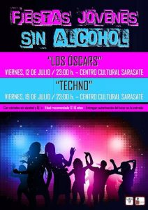 fiesta jóvenes sin alcohol Castejón
