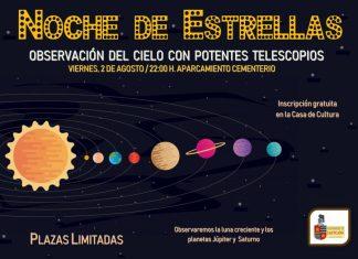 Noche de estrellas en Castejon