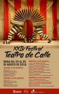 XXIV FESTIVAL TEATRO DE CALLE SORIA