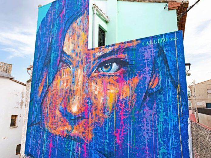 Mirada de mujer de Carlos Callizo. Torrellas