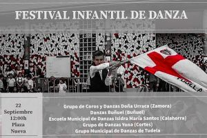 Festival infantil de danza Tudela 22.09