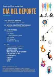 día del deporte San Adrian