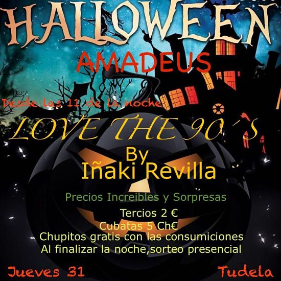 Halloween bar Amadeus