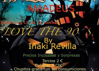 Halloween bar Amadeus