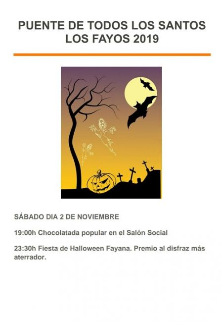 Halloween Los Fayos 2019