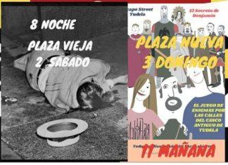 Historia negra, escape street, Tudela