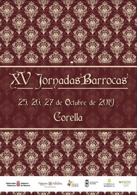 Cartel jornadas barrocas de Corella 2019