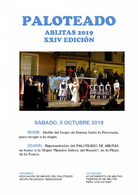 Paloteado 2019 en Ablitas