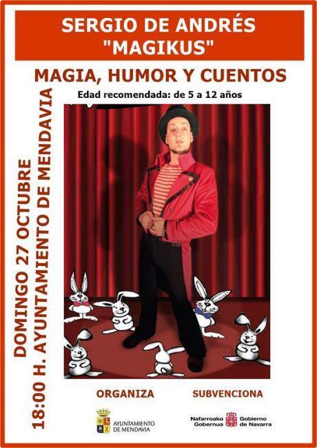 magia, humor y cuentos en mendavia