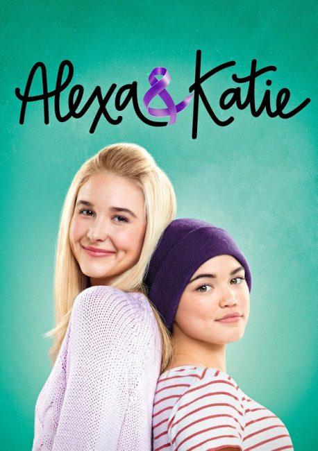 Cartel de Alexa y Katie serie para ver en familia