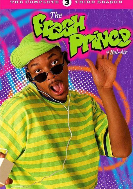 Cartel de El Príncipe de Bel Air serie para ver en familia