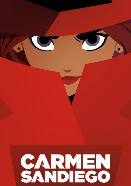 Cartel de Carmen Sandiego serie para ver en familia