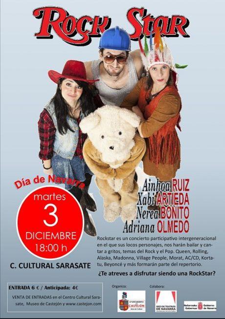Concierto Musical-Familiar Participativo Castejon