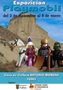 Belén de Playmobil en Funes