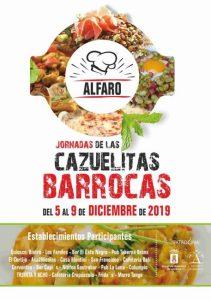 JORNADAS CAZUELITAS BARROCAS ALFARO 2019