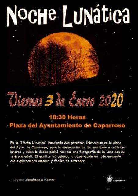 Observación de la luna en Caparroso