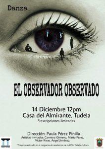 el observador observado, danza Tudela