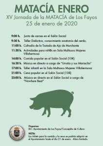 Jornada de la matacía 2020 en Los Fayos