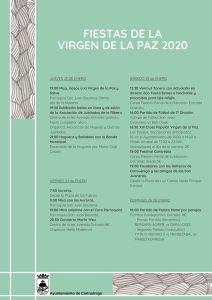 Fiestas de la Virgen de la Paz 2020 en Cintruénigo