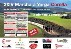 Marcha a Yerga desde Corella 2020