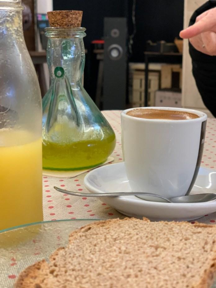 Aceite bueno para desayuno en El Colmado