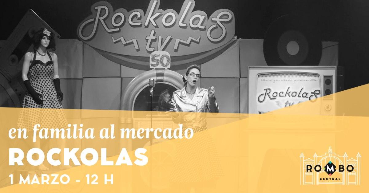 Los Rockolas, espectáculo rock familiar