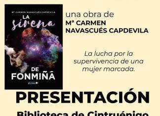 PRESENTACIÓN LIBRO LA SIRENA DE FONMIÑÁ