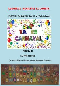 carnaval ludoteca municipal