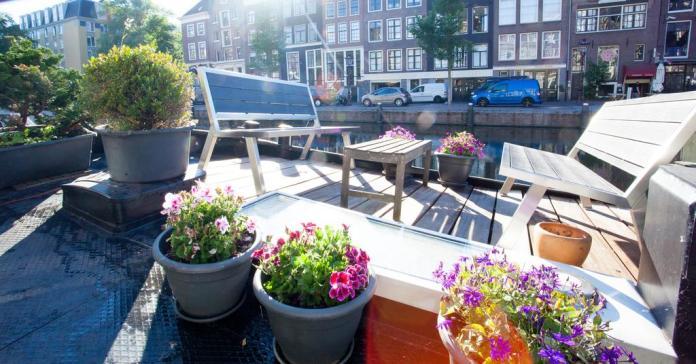 Alojamiento Europa Amsterdam Prince Royal terraza
