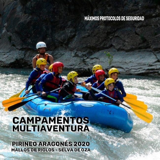 CAMPAMENTO ECOAVENTURA MALLOS DE RIGLOS