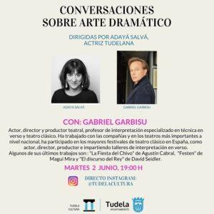CONVERSACIONES ARTE DRÁMATICO JAVIER GARBISU