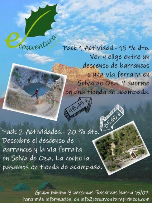 Ecoaventura Pirineos verano 2020