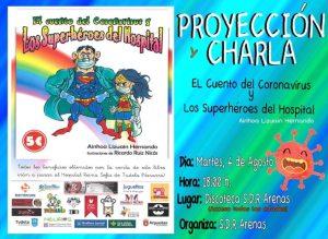 PROYECCIÓN Y CHARLA EL CUENTO DEL CORONAVIRUS