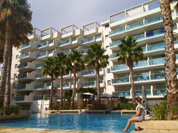 Blaumar Hotel familiar piscina