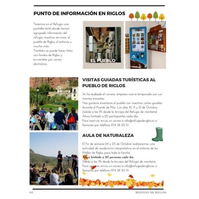 PROGRAMA OTOÑO REFUGIO DE RIGLOS 02