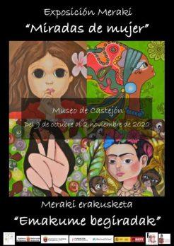 EXPOSICION MERAKI MIRADAS DE MUJER