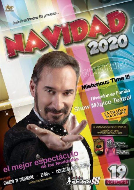 MAGIA NAVIDAD 2020 EN CINTRUÉNIGO