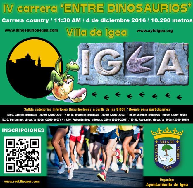 Entre dinosaurios Igea