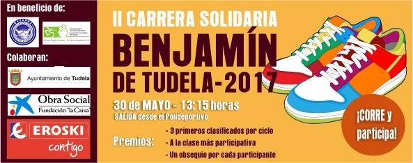 CARRERA SOLIDARIA BENJAMIN DE TUDELA