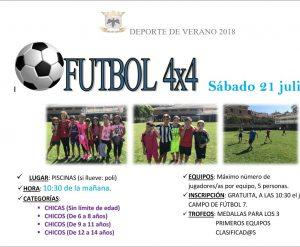fútbol 4x4 VILLAFRANCA