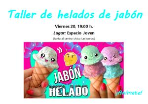 TALLER HELADOS JABÓN