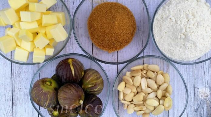 Ingredientes tarta de higos